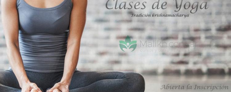 Clases de Yoga Tradición krishnamacharya