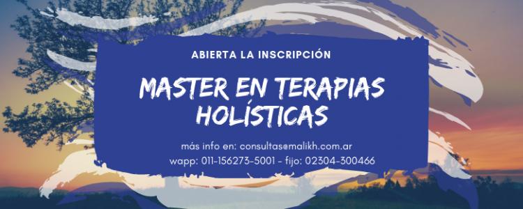 Master en terapias holísticas